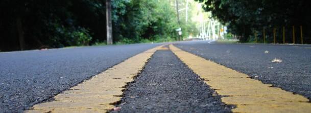 black-top-road-centerline
