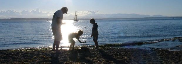family-at-a-beach