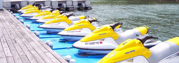 jet-skis-on-pads-docked