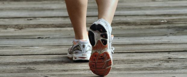 wellness-walking-shoes-on-boardwalk
