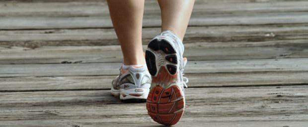 wellness-walking-shoes-on-boardwalk